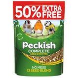 Peckish Complete Seed & Nut Mix 2kg + 50% Extra Free