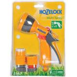Hozelock Multi Spray Gun and Fittings Set