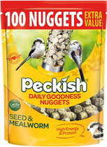 Peckish Seed & Mealworm Nuggets - 2kg