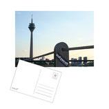 """postkarte """"skyline"""""""