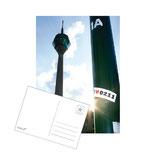 "postkarte ""1A rheinturm"""