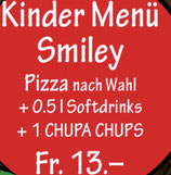 Kinder Menü Smiley