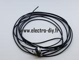 Micro switch à levier câblé