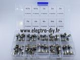 Boite assortiment fusibles verre 5x20 100 pièces
