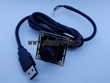 Caméra USB N & B 12 mm 1.3 MP Aptina AR 0130