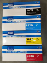 Pack 4 cartouches compatibles Laser HP Color LaserJet Pro MFP M 470 Série