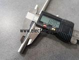 Tige lisse acier rectifié brut 8x100 mm
