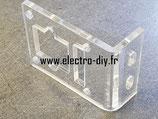 Support acrylique transparent pour caméra