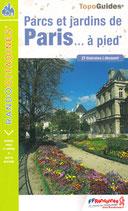 Parcs et jardins de Paris à pied