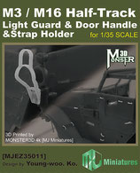MJEZ35011  1/35  M3/M16 Half-Track Light Guard & Door Handle & Strap Holder