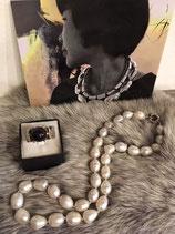 Süsswasser Perlenkette - Neu