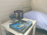 Einzelne Übernachtung im Einzelzimmer   B&B waveBandits Kite-Guesthouse
