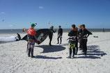 Einsteiger-Kite-Kurs, Wochenkurs