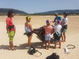 Kiten für Kids, Sommer-Camps 7 Tage