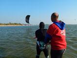 Opvolg-Les Kitesurfen 1/2 dag voor Gevorderden