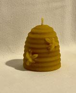 Bienenkorbkerze