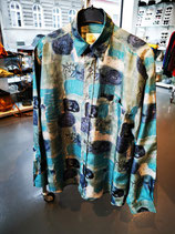 Dragon, silk shirt