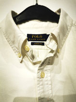 Ralph Lauren, white heavy cotton shirt
