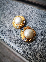CHANEL, clip on earrings
