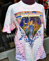 Grateful Dead, tie-dye 1988 NYC tour shirt by Mikio