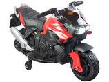 Playtastic Kindermotorrad mit MP3-Funktion, Sounds & Stützrädern, 3 km/h