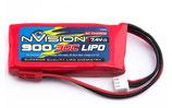 Nvision RC-Akku LiPo 900 mAh 7.4 V 30C