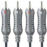 Bandridge BLUE Stereo-Cinch Kabel 10meter