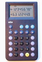 Braun ET100 sw Taschenrechner