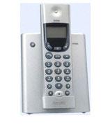 Schnurlostelefon Doro 5045 mit integ. Beantworter silver metallic