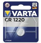 Varta Knopfzelle CR 1220