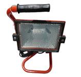 Halogen Scheinwerfer 500 Watt IP54 rot