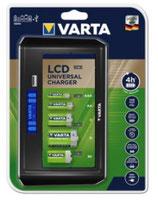 Varta Ladegerät LCD Universal