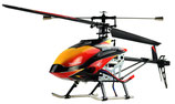 Amewi RC - Helikopter Buzzard Pro XL Brushless 2.4Ghz  4 Kanal Single Blade RTF
