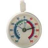 Kühl/Gefrierschrank Thermometer rund mit Aufhängehaken
