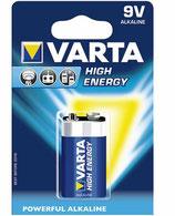 Varta Batterie 9 Volt