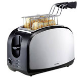 Trisa Toaster Crispy Snack Edelstahl schwarz