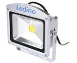 Ledino LED - Strahler (Scheinwerfer) 20 Watt silber
