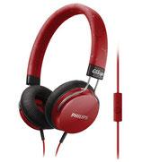 Philips Kopfhörer mit Mikrofon SHL5305RD/00