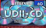 Audio-Kassette Maxell UDII CD-60 2er Pack