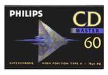 Philips Kasette  CD Master 60