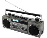 Soundmaster DAB+ Radio mit Kassette SRR70 TI