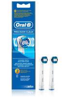 Braun Oral-B Ersatzbürsten Precision Clean 2er Pack