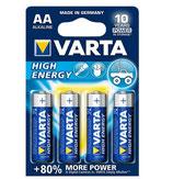 Varta Batterien AA 4er Packung