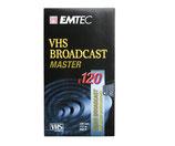 Emtec VHS Videokassette 240min