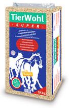 TierWohl SUPER +Enzym - Weichholz-Granulat