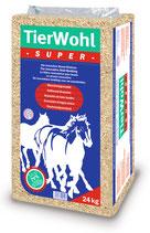 TierWohl SUPER - Weichholz-Granulat
