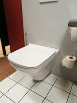 Wand- Tiefspül- WC (ohne Spülrand)