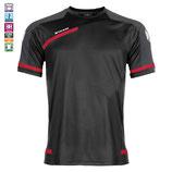 Stanno PRESTIGE T-Shirt (Schwarz-Rot)