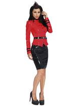 9234 Datex Latex Uniform Jacke Military Style
