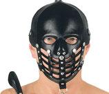 50-5234 Leder Kopf Harness mit vorgeformten Gesichtsteil